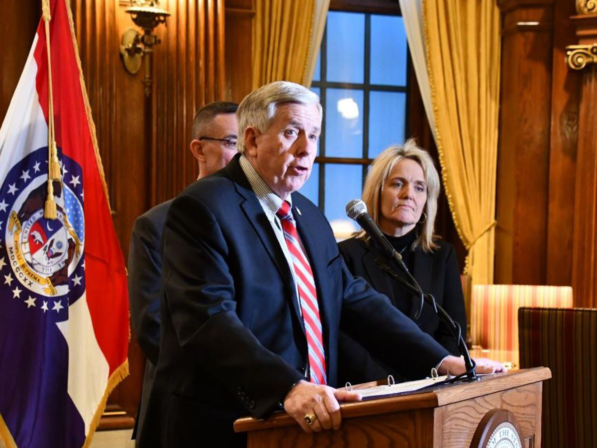 Mo. Governor delivers 2020 State of the State address