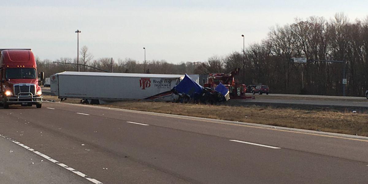Crash slowed traffic on I-57 in Williamson Co., IL