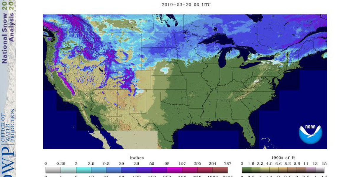 How the northern snowpack could affect flooding in the Heartland