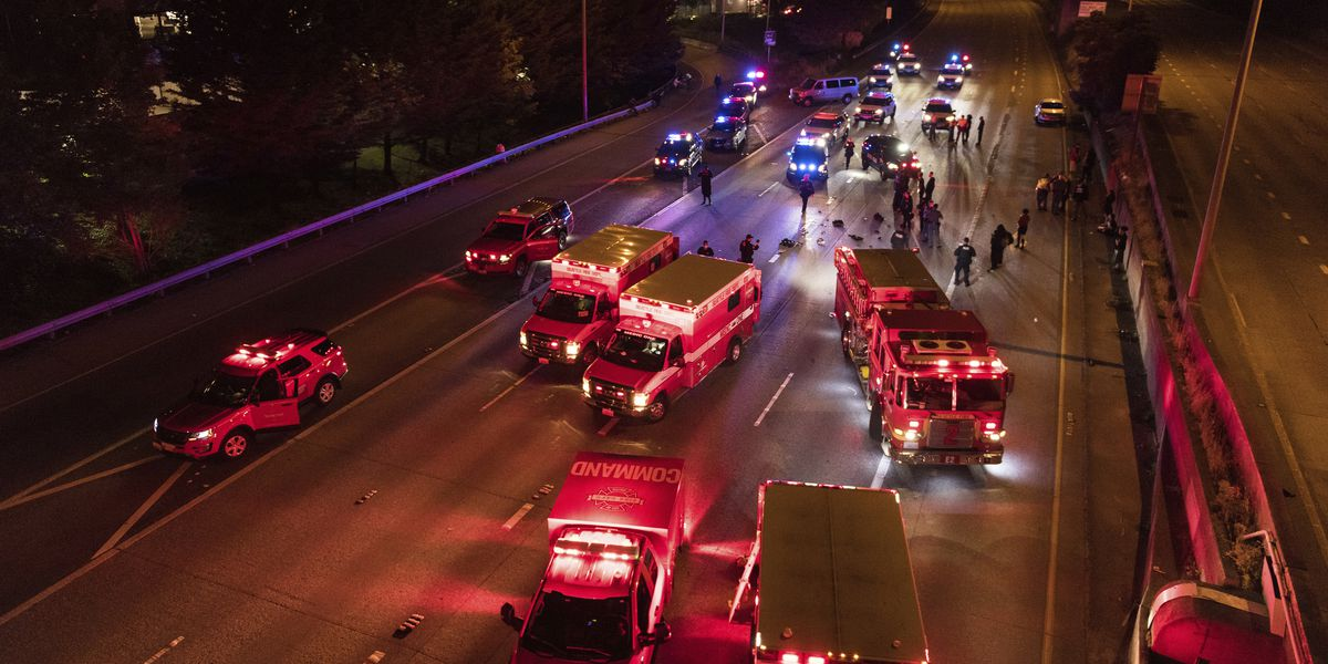 Driver who hit Seattle protesters charged with 3 felonies