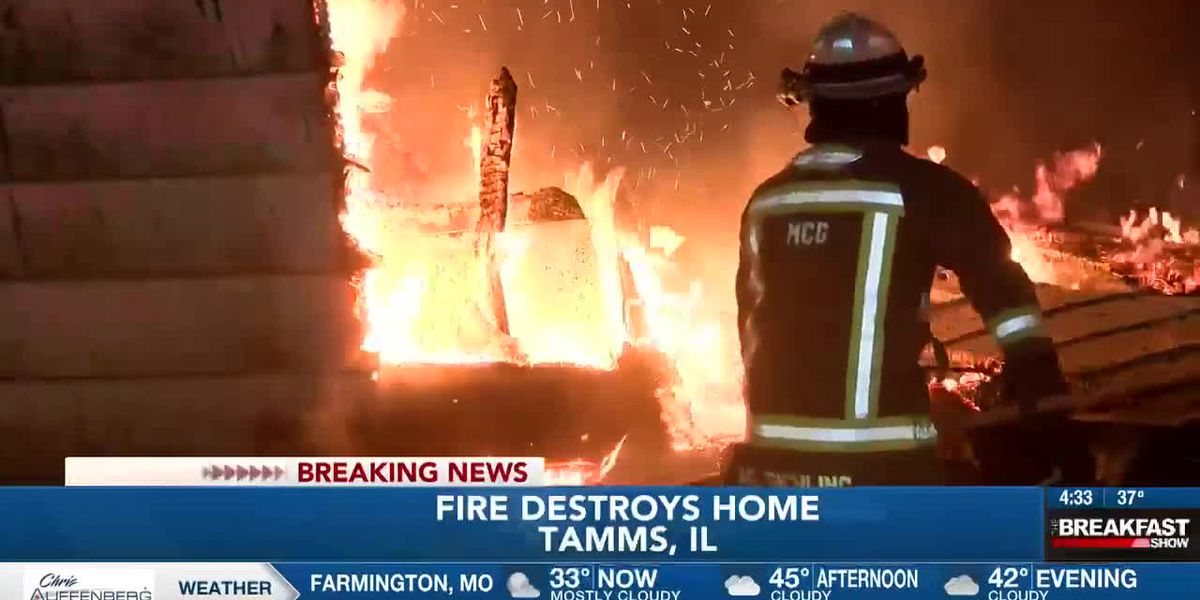 Tamms house fire
