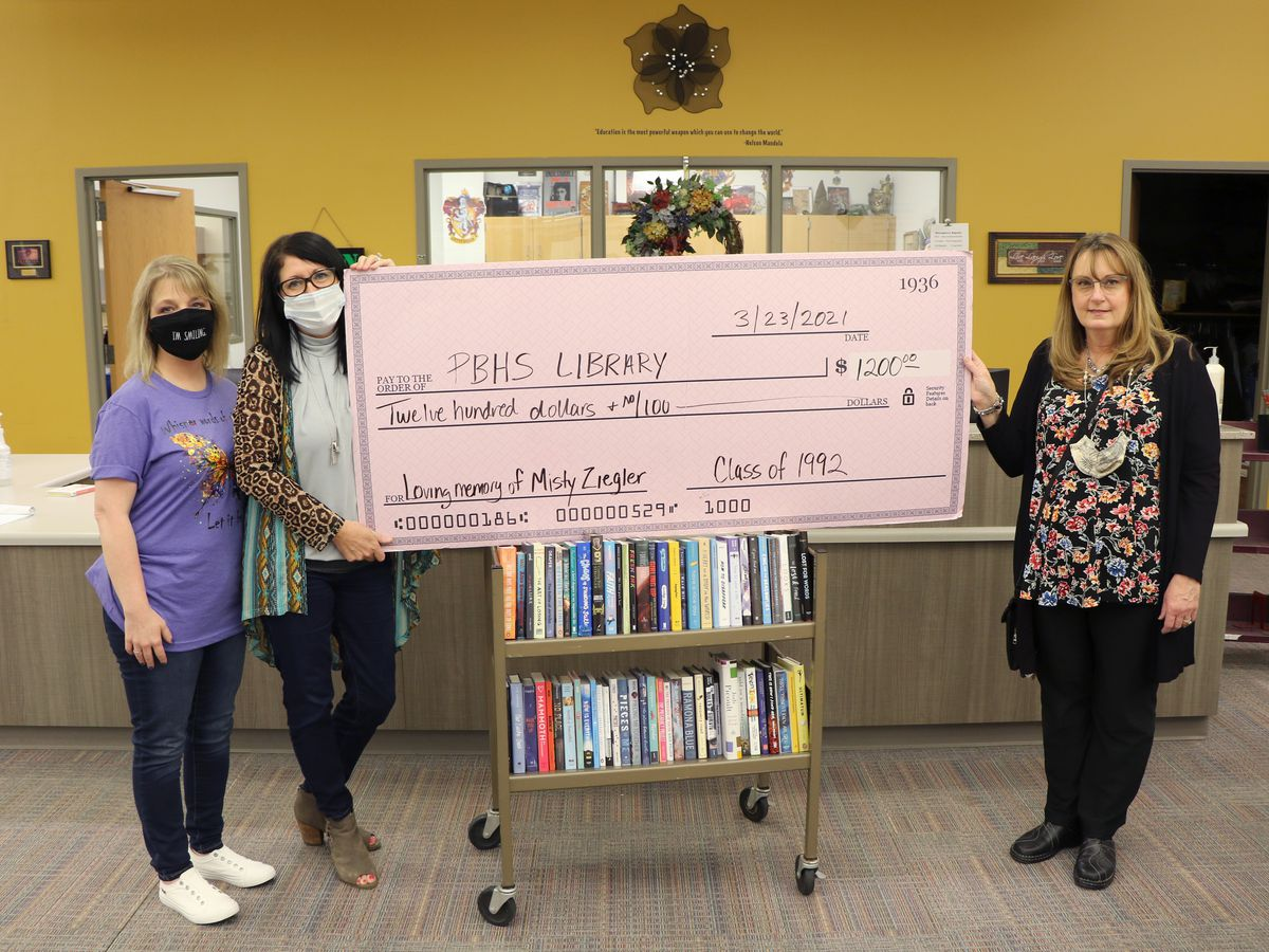 PBHS class of 1992 makes donation in memory of classmate