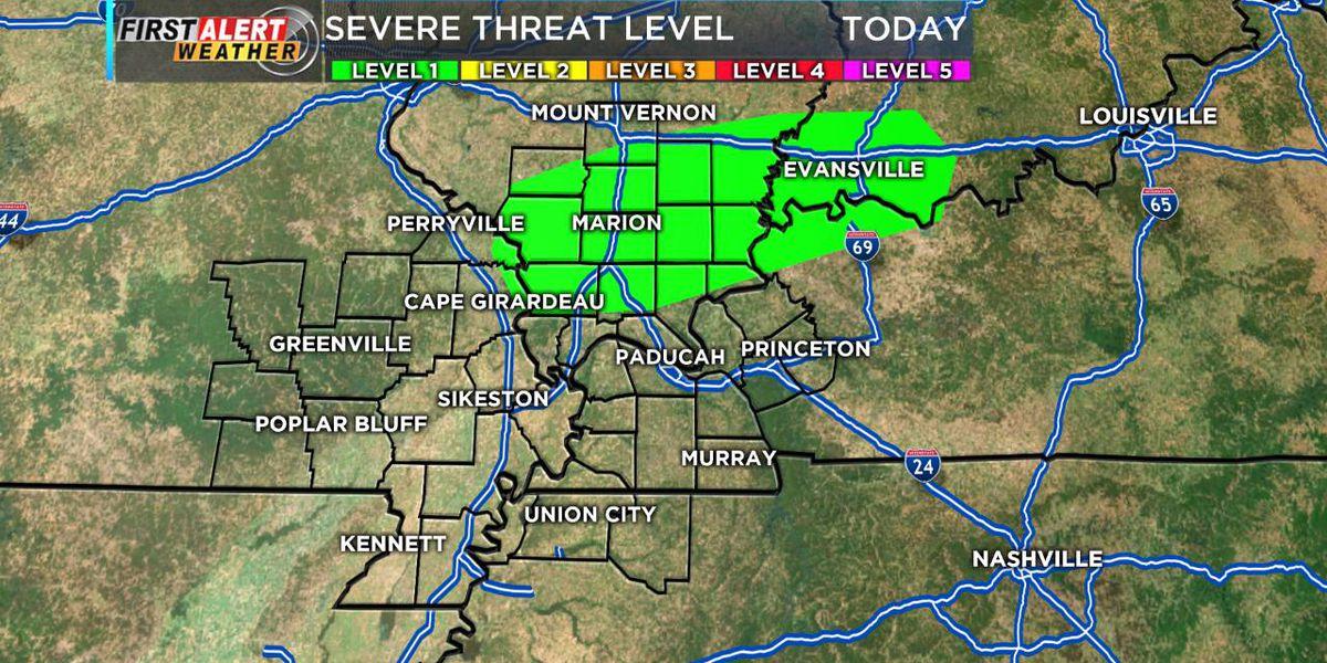 First Alert: Rain moves through the Heartland, flooding concerns