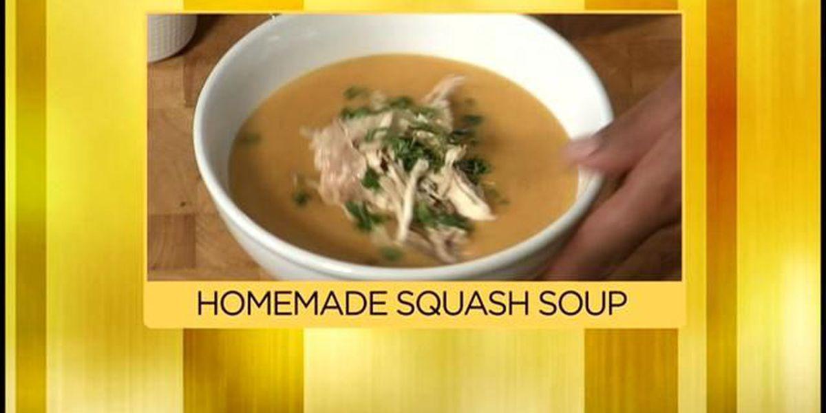 Chef Jeff 10/30 - Butternut Squash Soup