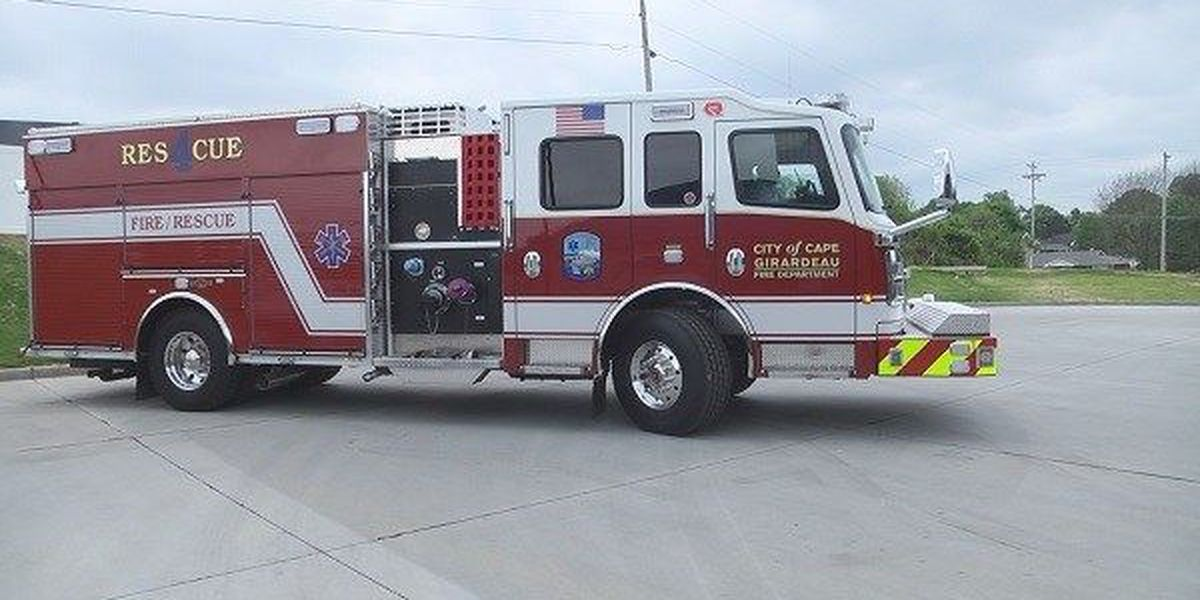 Cape Girardeau Fire Department gets new fire trucks to increase safety