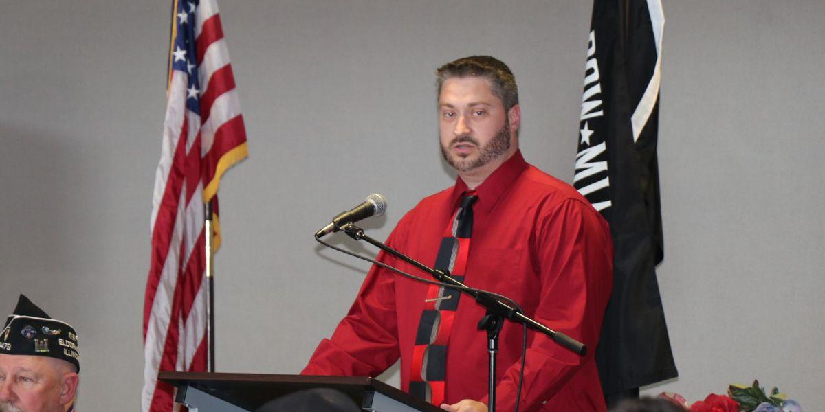 U.S. Army Veteran Josh Richardson keynote speaker at SIC Veterans Day ceremony