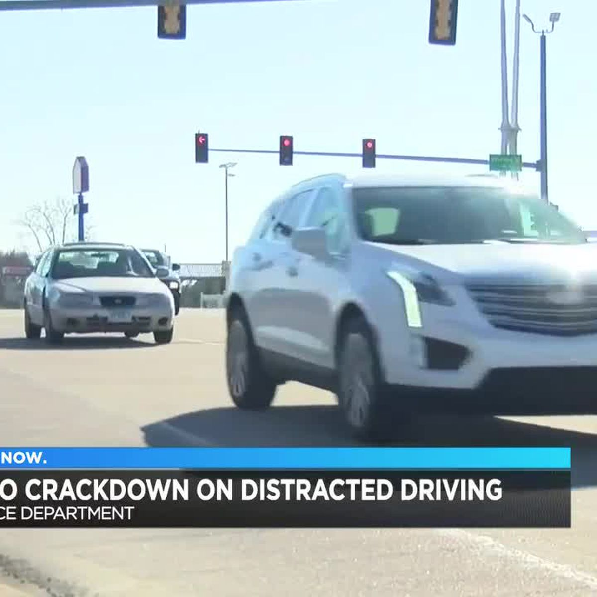 Police crack down on distracted driving