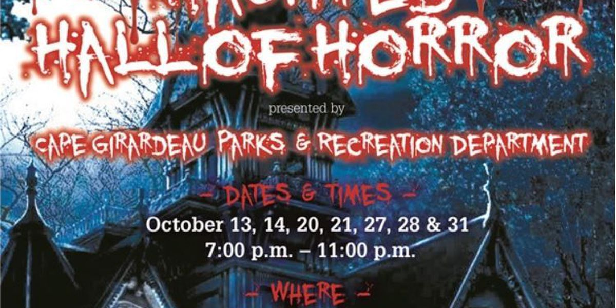 Haunted Hall of Horrors is open for scares