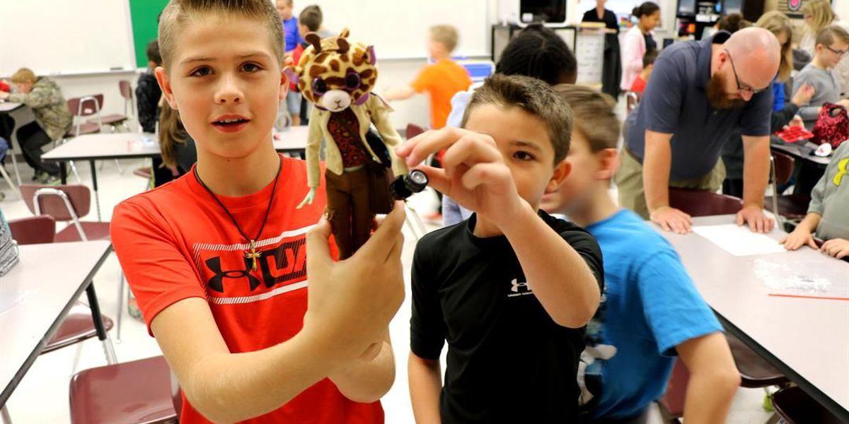 "Poplar Bluff Santa's Workshop inspired by ""Toy Story"""