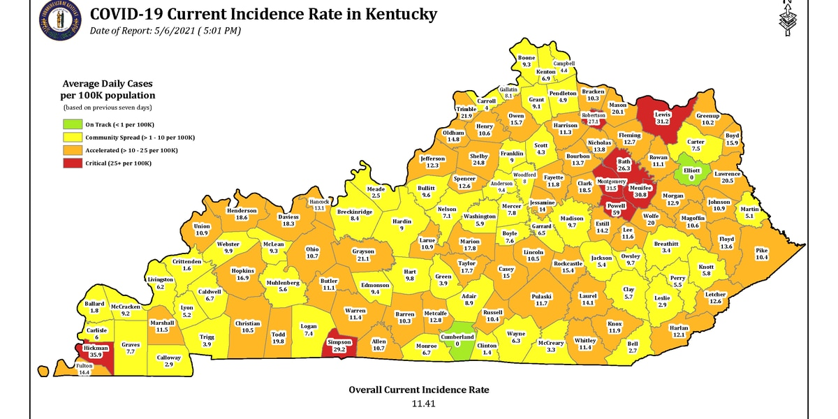 Gov. Beshear: Nearly 2M Kentuckians have received at least first dose of COVID-19 vaccine