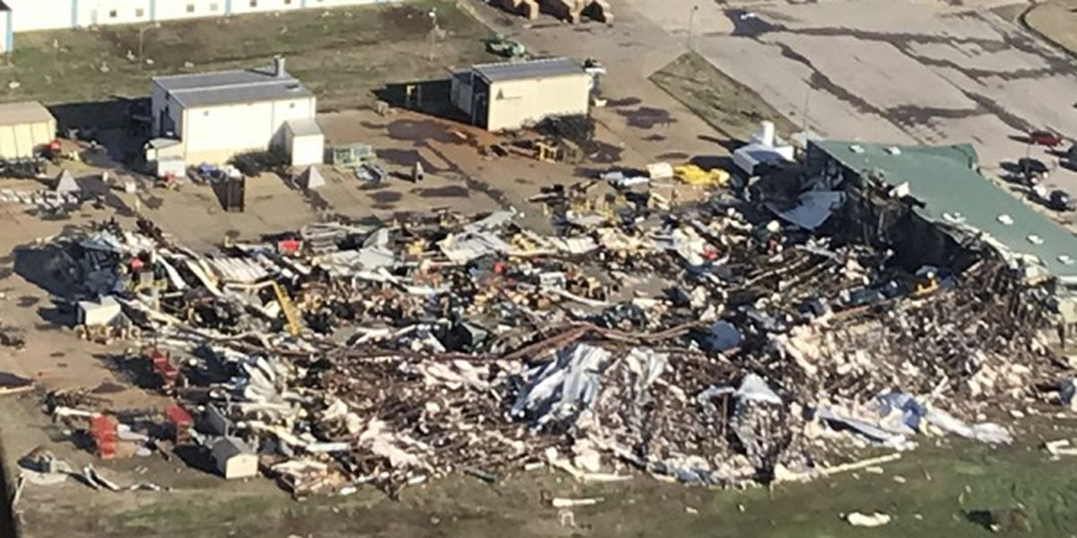 NWS confirms EF-3 tornado hit Jonesboro, Ark; 22 injured