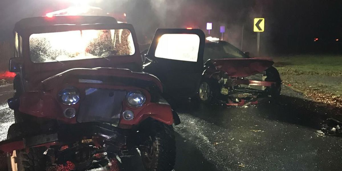 3 sent to hospital following crash in McCracken Co., KY