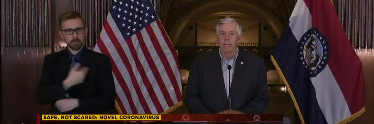 Gov. Parson addresses getting medical help to rural areas