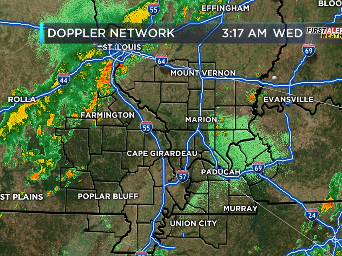 First Alert: Cold front moves through this morning