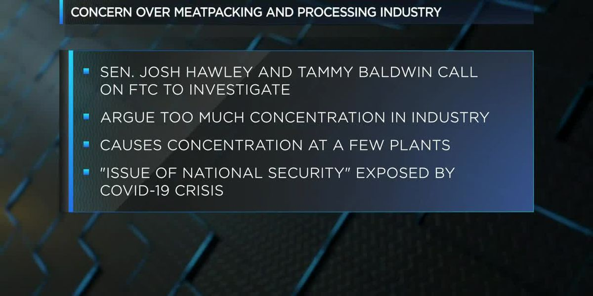 Sen. Hawley calls on FTC to investigate meatpacking, processing industry