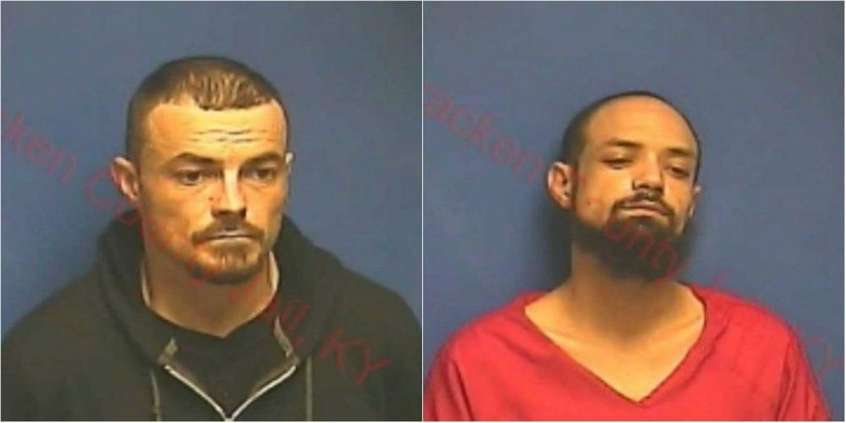 Two men arrested on drug charges after traffic stop in McCracken Co.