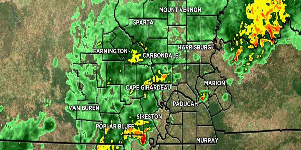 First Alert: Thunderstorms, rain moving through