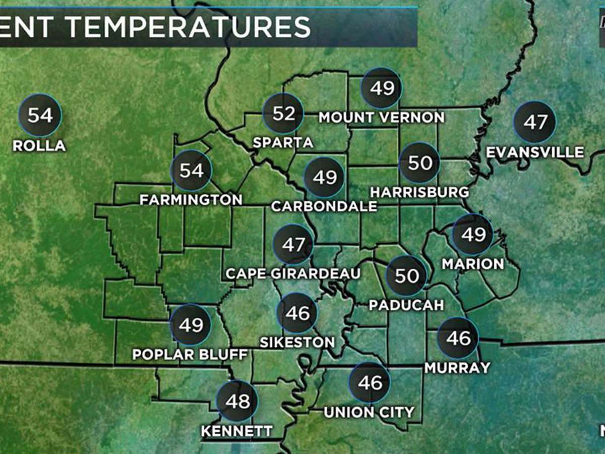 First Alert: Sunny today, but temps will drop after sunset