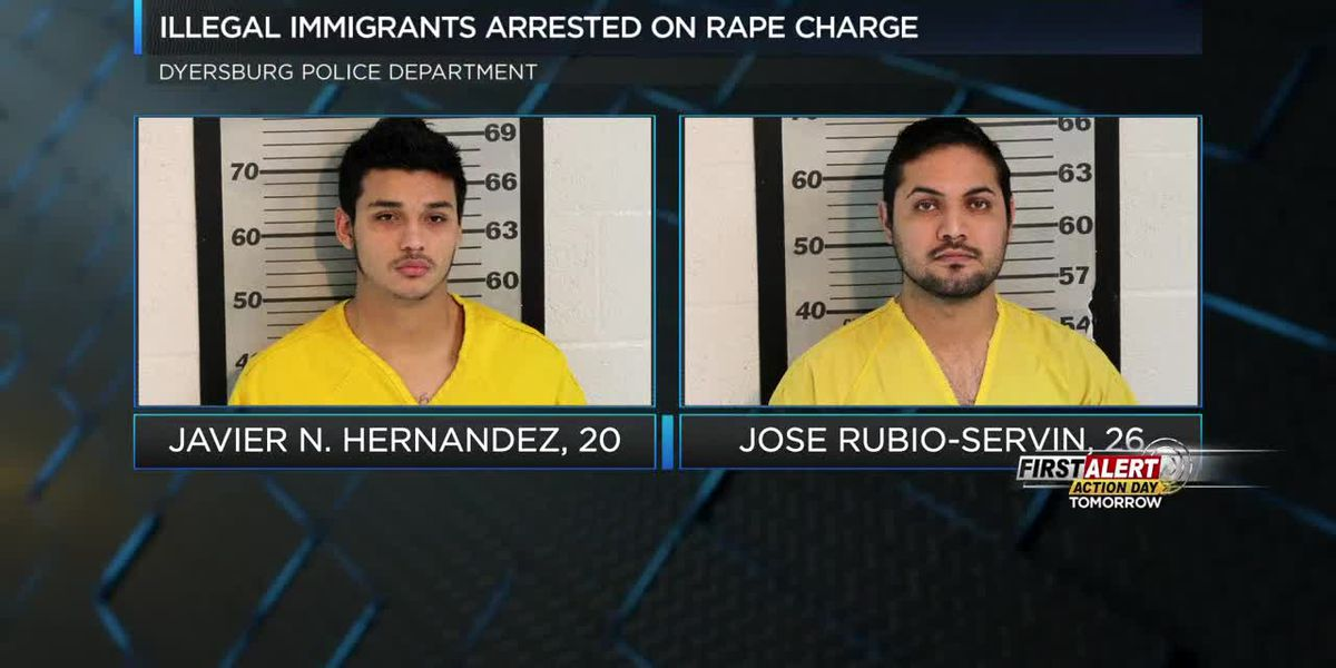 2 illegal immigrants arrested on rape charge