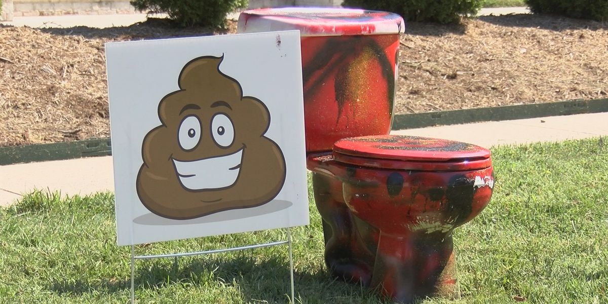Sikeston students 'flush bullying' with toilet display in front yards