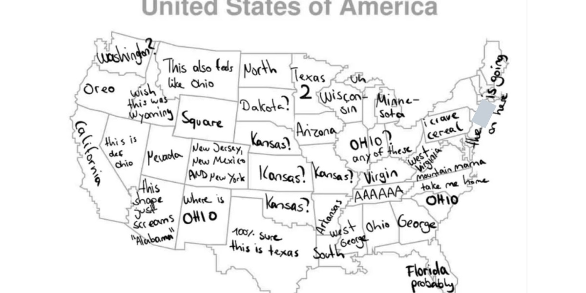 'Where is Ohio' trends on Twitter after German man can't pinpoint it on map of the US