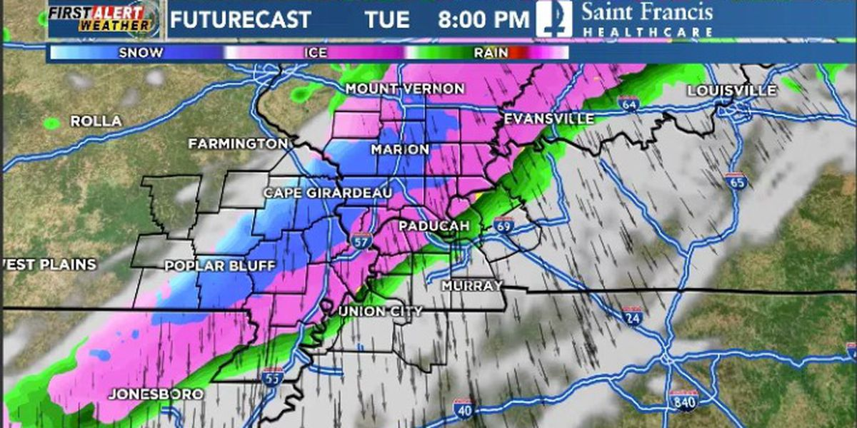 First Alert: Cold front brings rain, snow