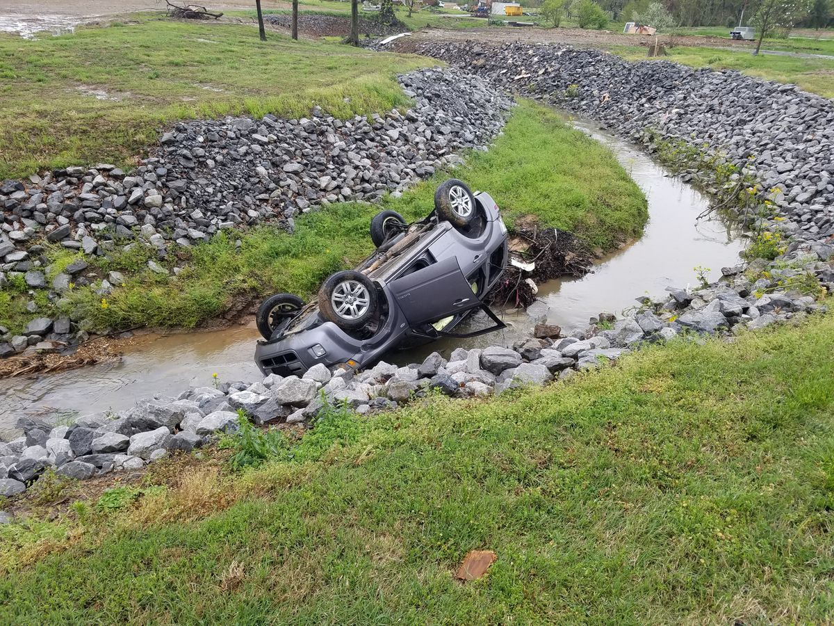 Rollover crash in McCracken Co. sends one to hospital