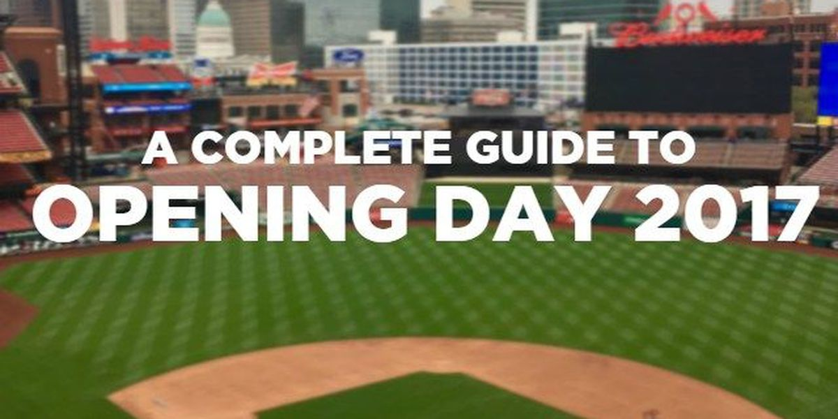 IT IS OPENING DAY! Are you driving up to Busch Stadium? Here's what you need to know.