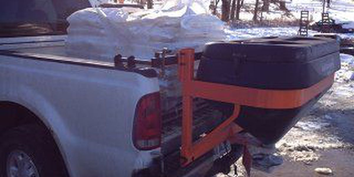 Lawn care company running low on ice melt