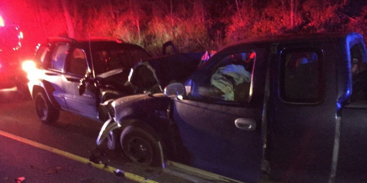Man, woman injured in two-car crash on St. Rte. 464 in Graves Co., KY
