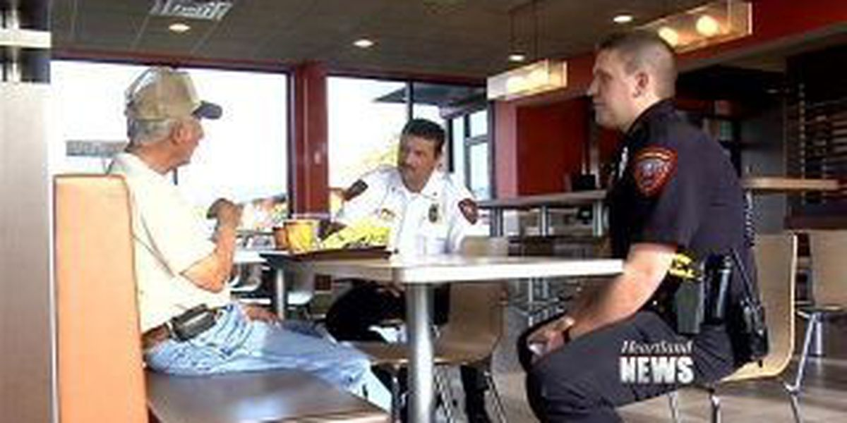 'Coffee with a Cop' in Jackson, Mo.