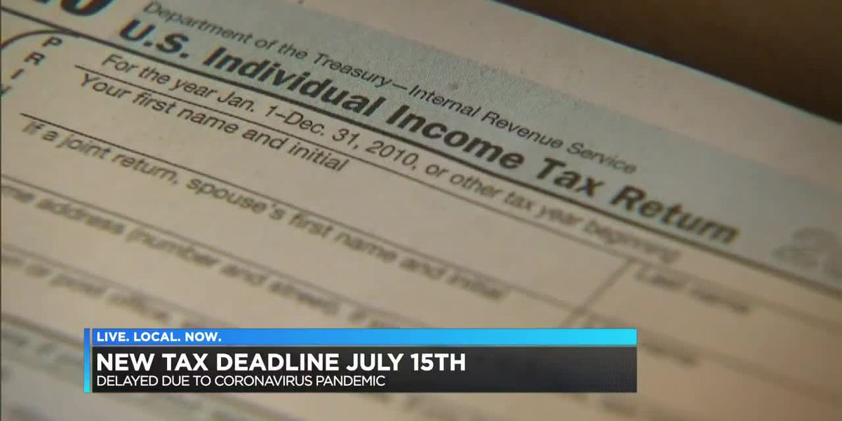 New tax deadline July 15