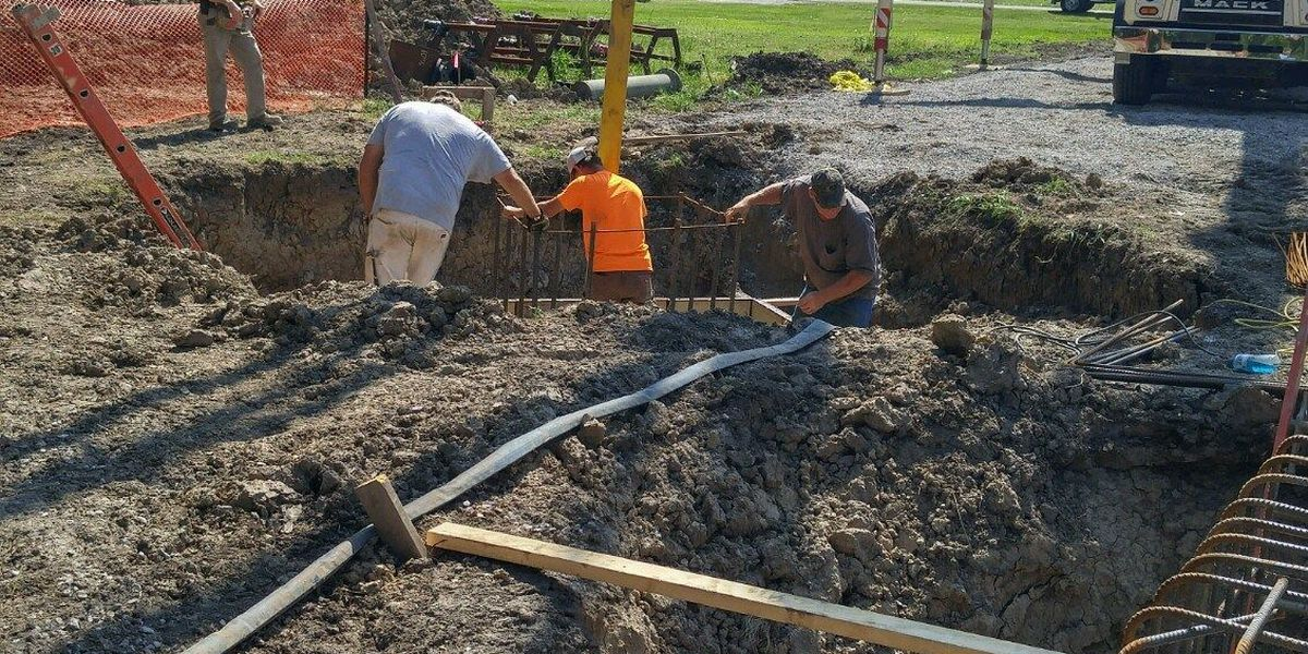 Mound City breaks ground on new water tower