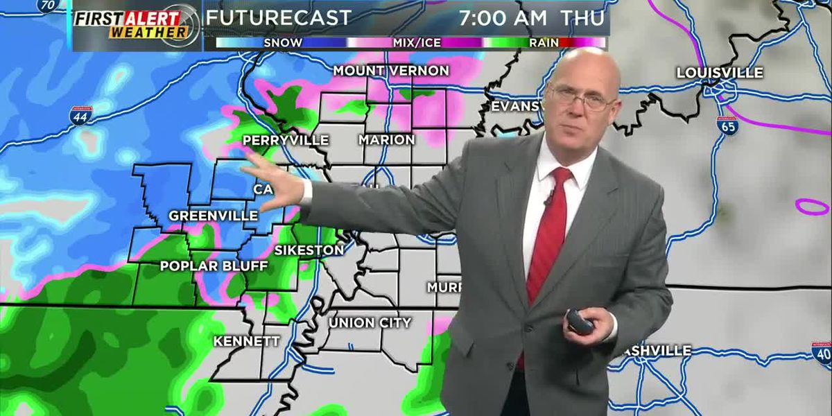 First Alert Weather Forecast at 10 p.m. 1/21