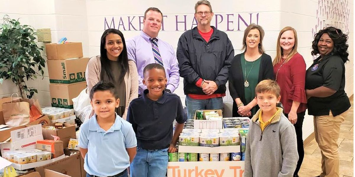 Students collect more than 8K items for food drive
