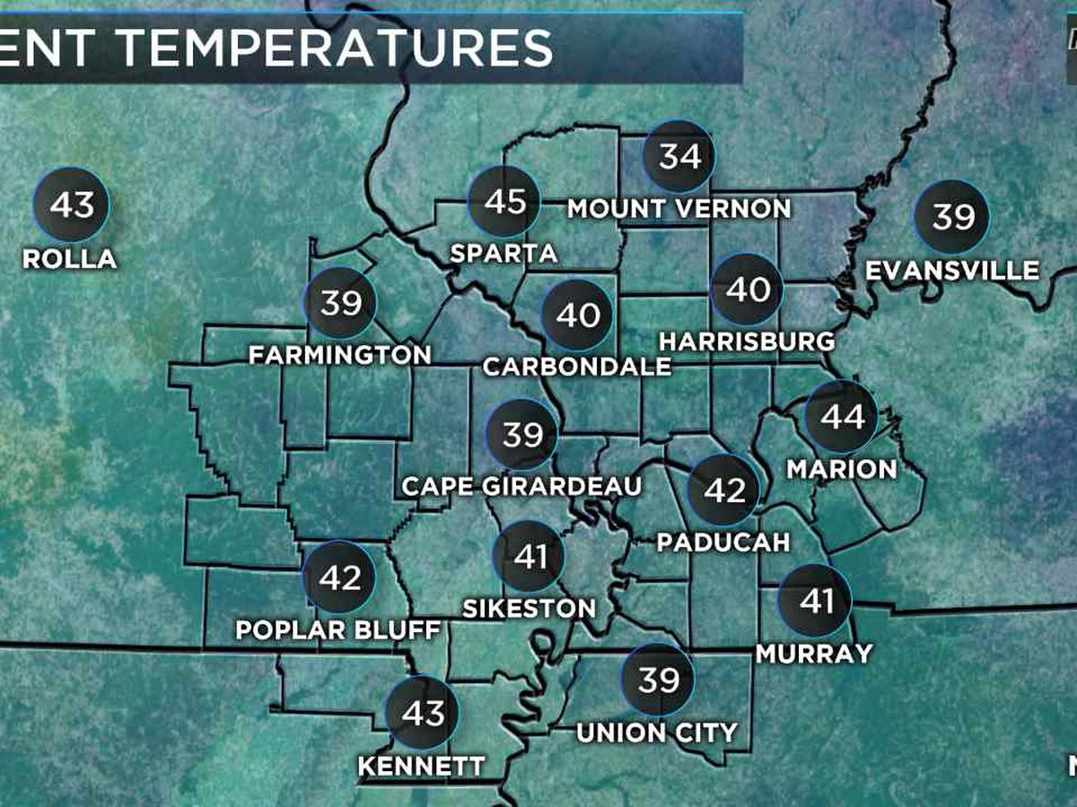 First Alert: Temps expected to be nice and mild