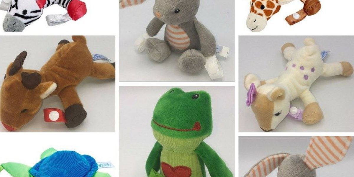 Pacifier holder recalled due to choking hazard