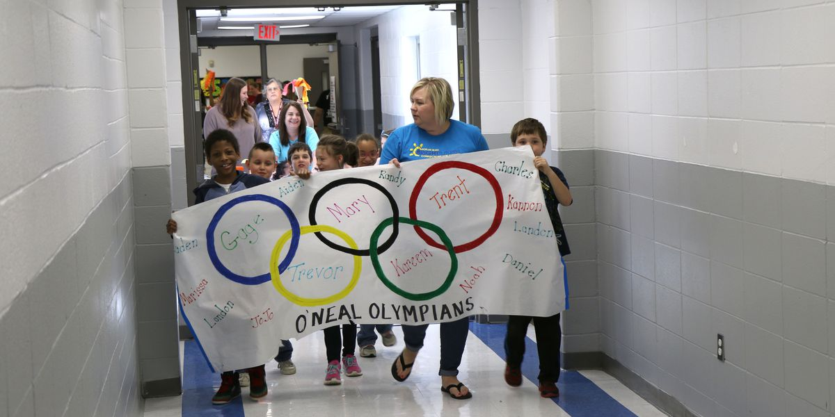 Special Olympics Southeast Missouri games held at PBJHS