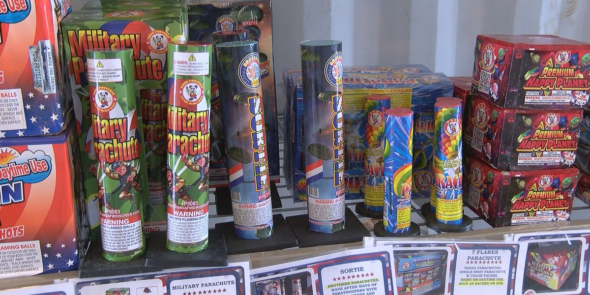 Firework salesman expects sales to rise due to COVID-19