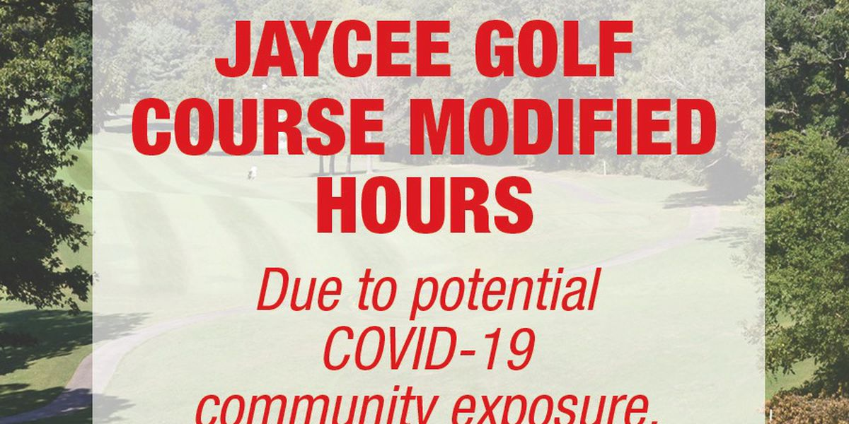 Cape Jaycee Municipal Golf Course changes hours due to potential COVID-19 exposure