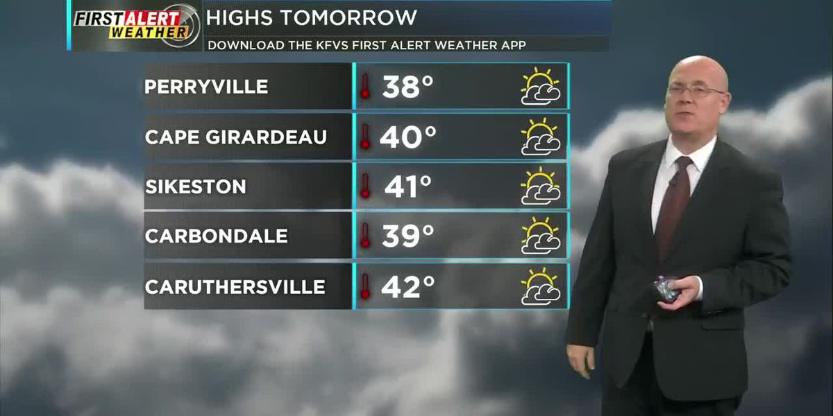 First Alert Forecast at 6 p.m. 1/15