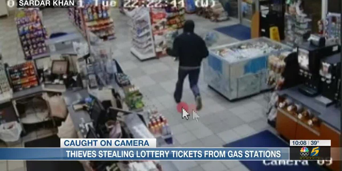 Gas station owner reports thieves stealing boxes of lottery tickets