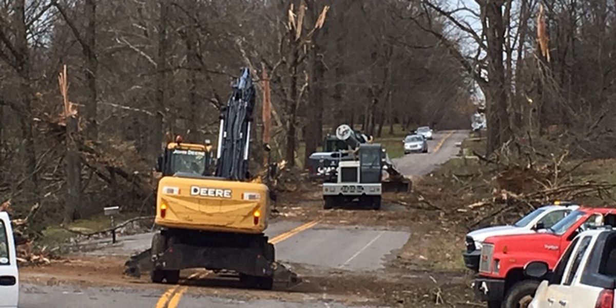 McCracken Co. EMA: Most roads clear from floodwater when tornado touched down