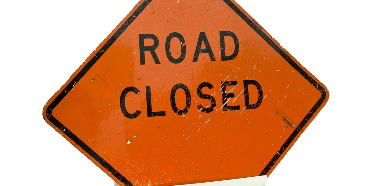 Ky Highway 121 North closed due to semi rollover crash