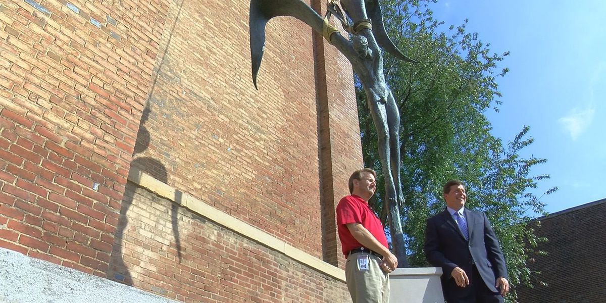 Renovations continue, new statue installed at church with ties to underground railroad