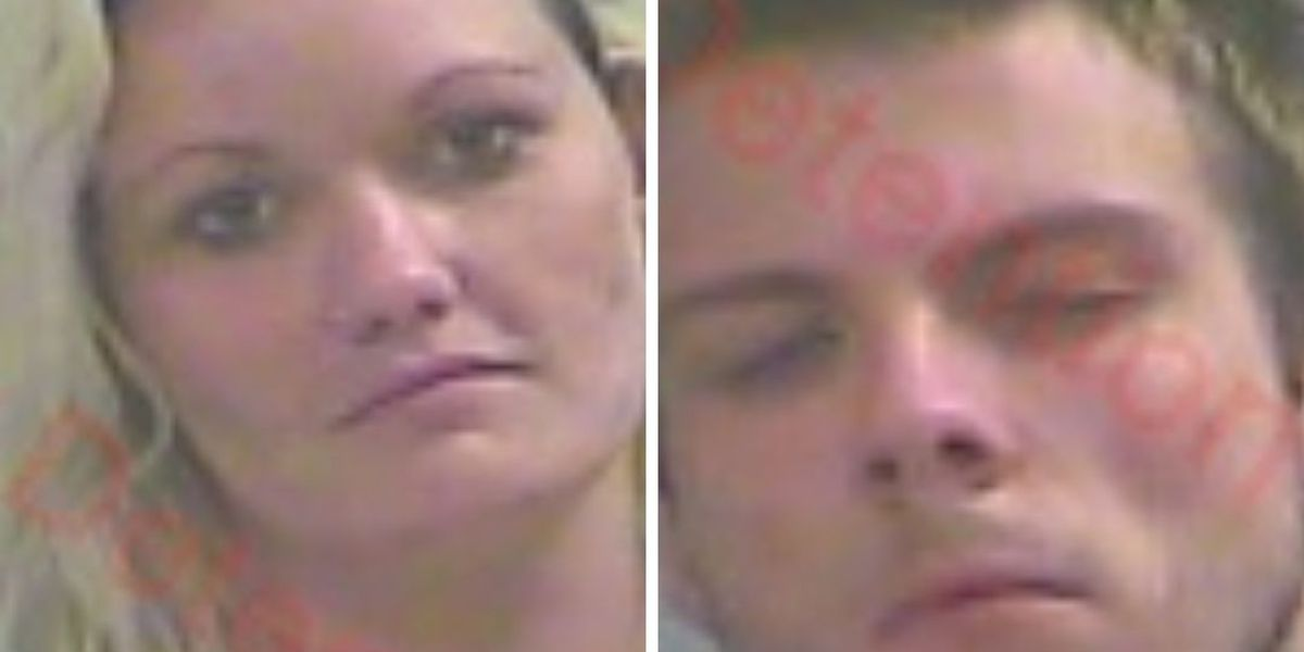 Woman, man arrested on drug, evading police charges