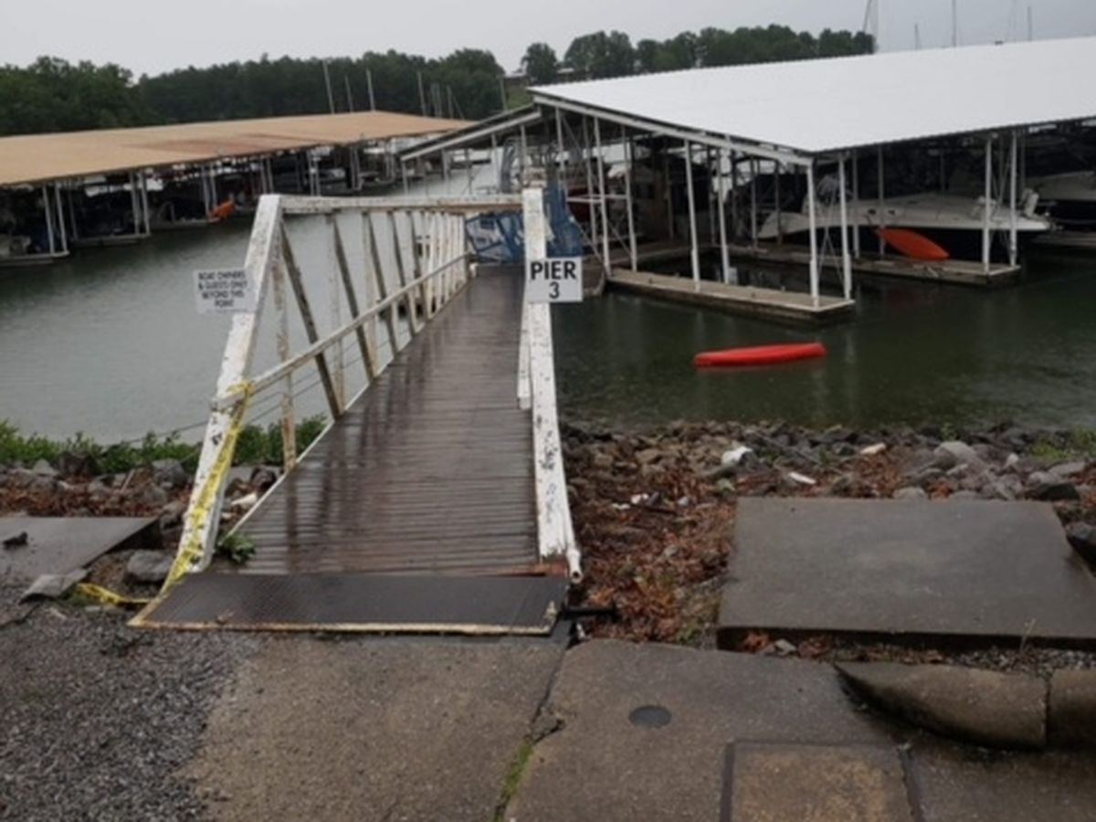 Kentucky Dam Marina closed due to storm damage; recovery underway