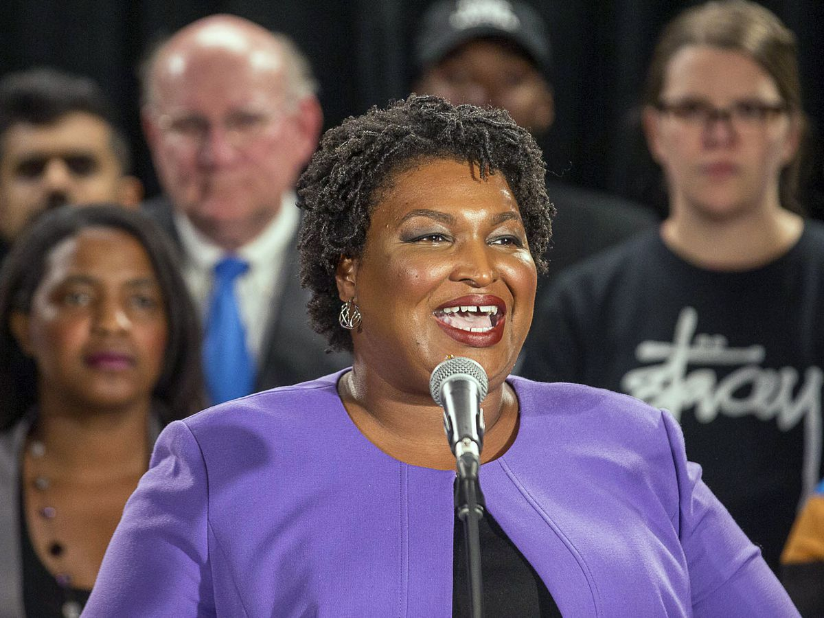 In defeat, Abrams emerges as leading voting-rights advocate