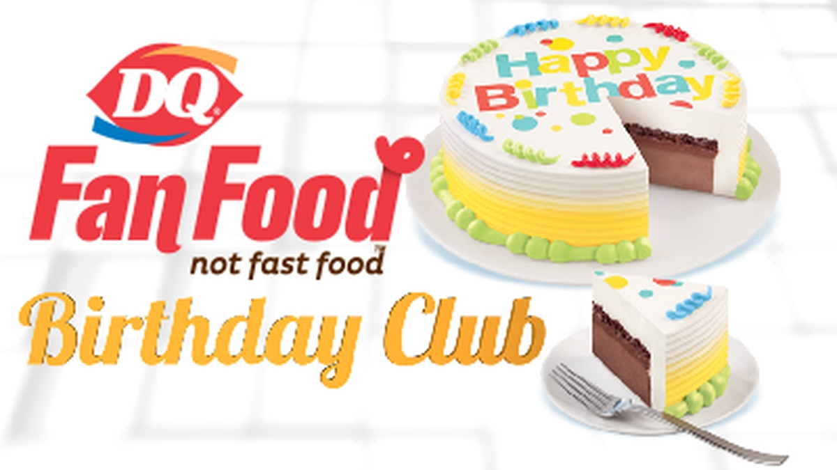 Join the Dairy Queen Birthday Club!