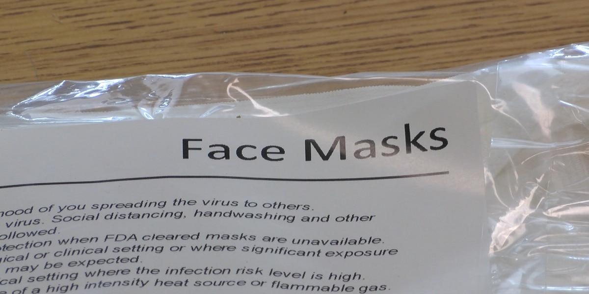 Kids adjusting to wearing masks in schools